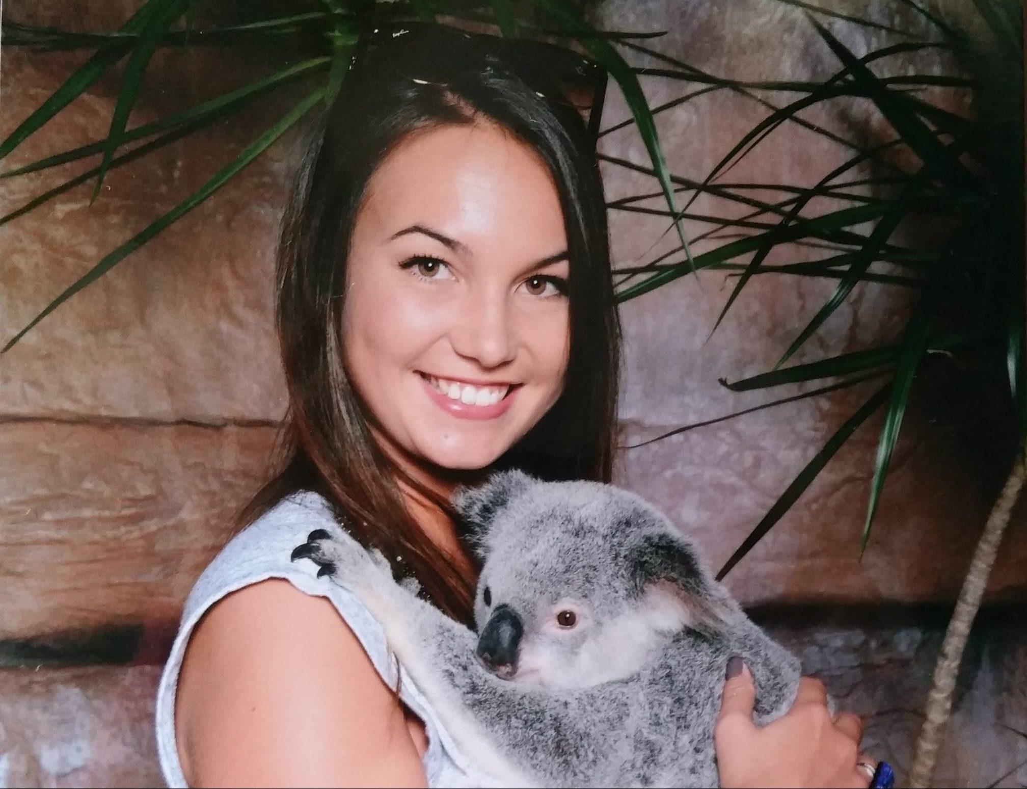 Australia Zoo - Diana mit Koala